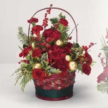 Large Yuletide Greetings Basket